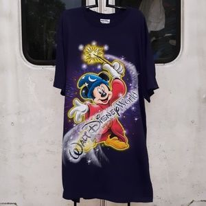 Walt Disney World Night shirt size 3XL